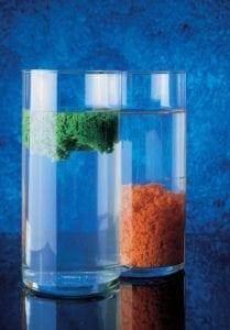 uitvlokken polymeer