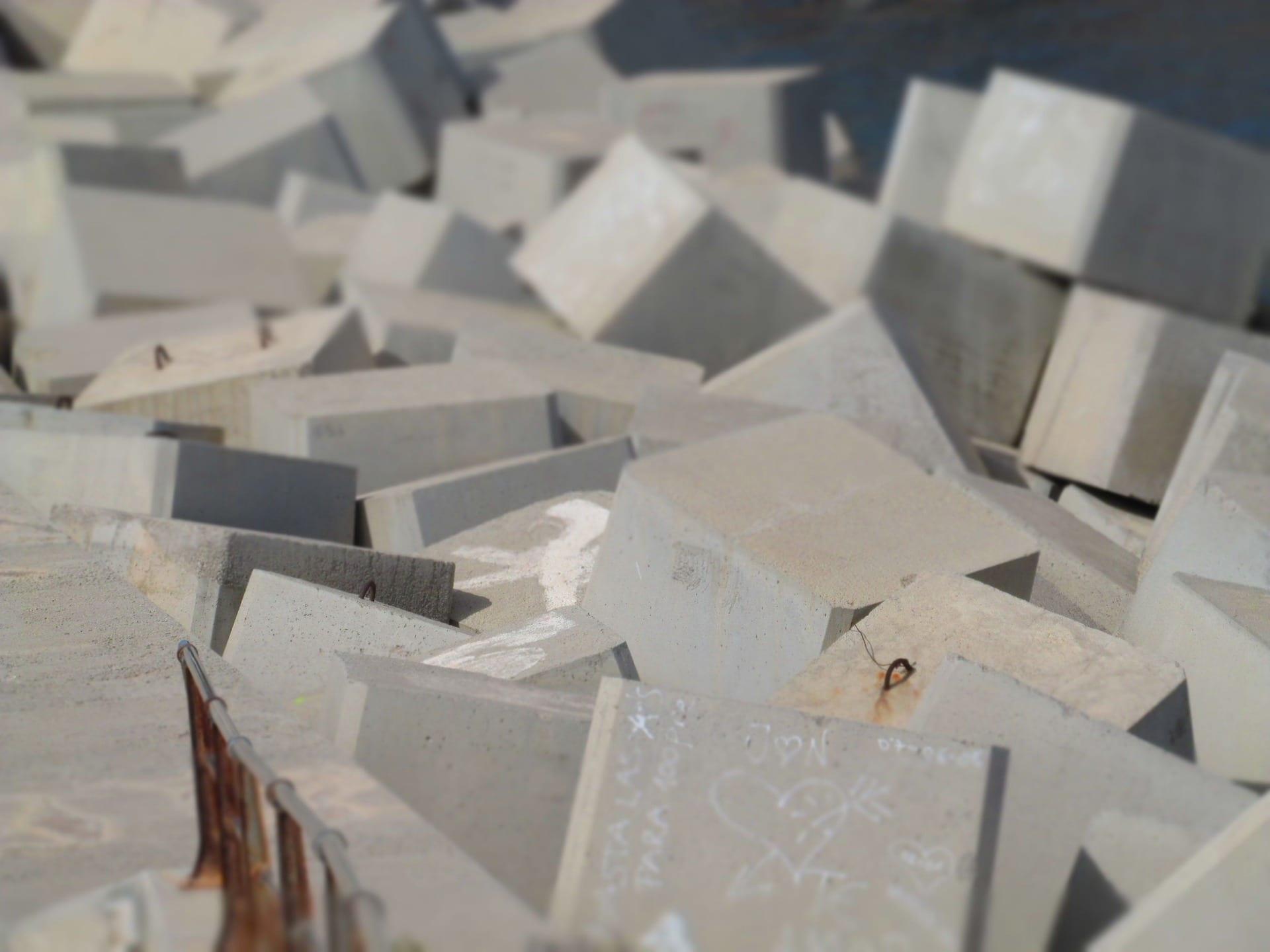 afvalwaterbehandeling beton steen industrie