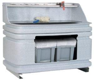 AC400 compacte spoelwaterinstallaties