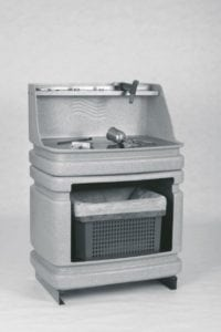 AS80 compacte spoelwaterinstallatie