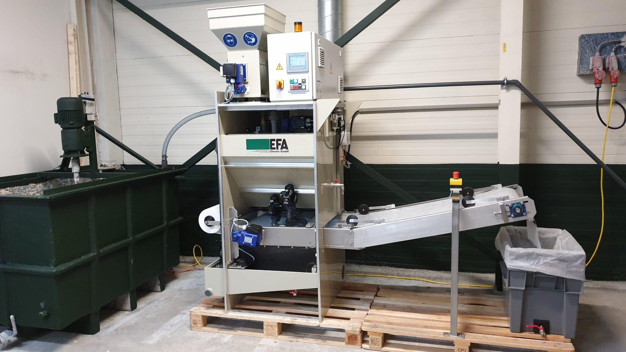 PC300 afvalwaterbehandelinsinstallatie